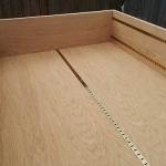 Oak-Bookcase-with-adjustable-shelves-1