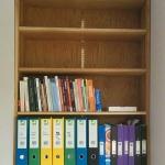 Oak-Bookcase-with-adjustable-shelves