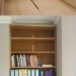 Oak Bookcase in Warnborough Road, Oxford