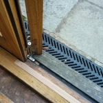 Oak Threshold Repair in Walton Street, Oxford