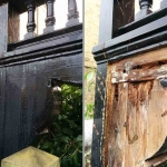 Wooden Arch Repair in Farndon Road, Oxford