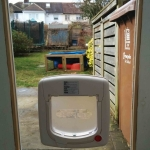 Cat flap Door in Woodhead
