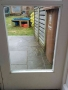 Door before Cat Flap Installed