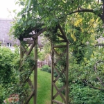 Garden Arch Repair in Middleton Stoney