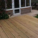 Garden Decking in Leafield
