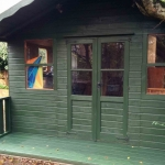 Summer House Painting in Farndon Road, Oxford
