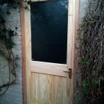 New Door and Frame in Oxford