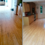 Sanded Floor in Southmoor Road, Oxford