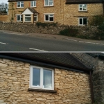 Stonework Pointing in Lower End, Leafield