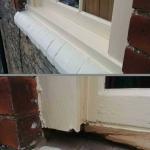 Window Cill Repair in the Green Under Norton