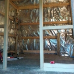 05-Framing-and-sauna insulation